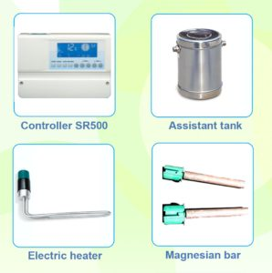 sourcing solar water heater accessories