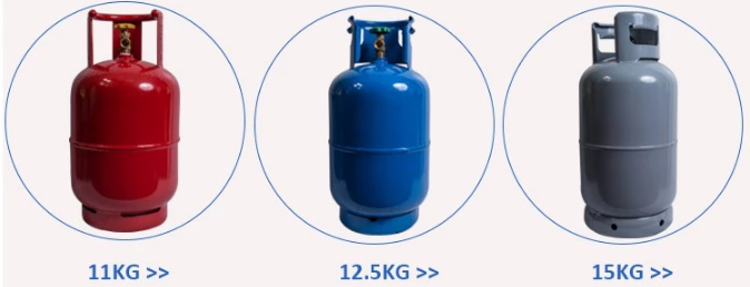 home Cooking gas cylinder