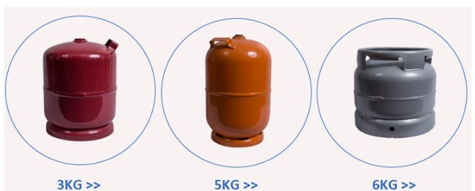 lpg gas cylinder home