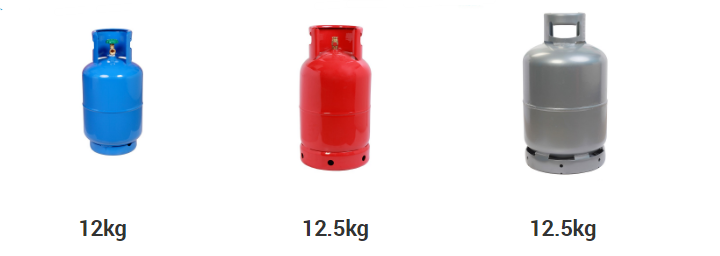 12kg-12.5kg cooking gas cylinder