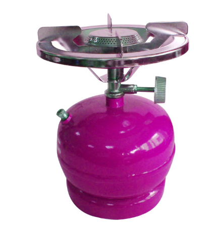cooking small gas tank
