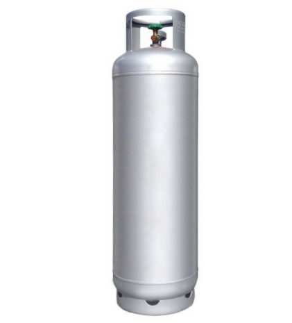 Stainless steel gas cylinder