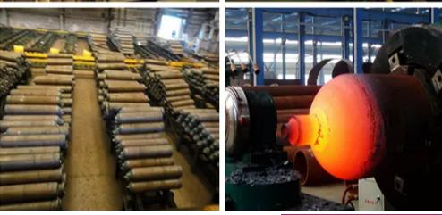 Carbon dioxide cylinder manufacturing