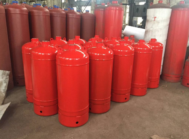 big stainless steel gas cylinder