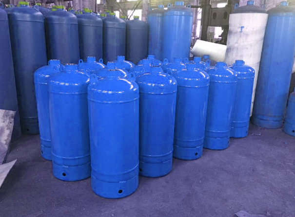 co2 stainless steel gas cylinder