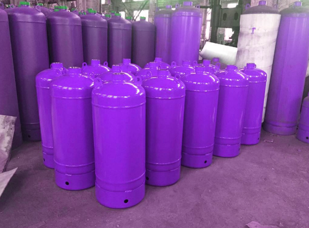 h2 stainless steel gas cylinder