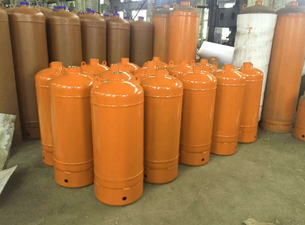 lpg stainless steel gas cylinder
