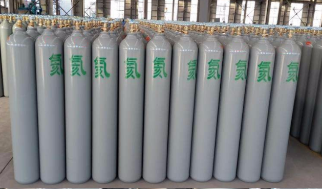 high pressure helium gas cylinder