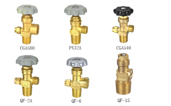 argon gas cylinder valve sizes