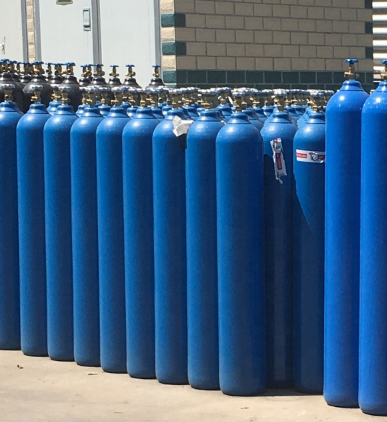 Oxygen gas cylinder china Seamless Steel