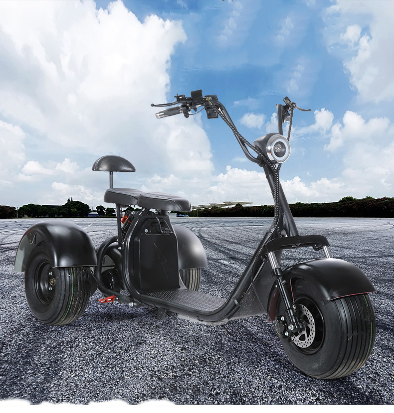 electric scooter three rounds